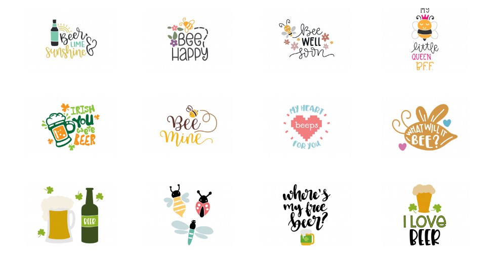 bee svg cut files for cricut