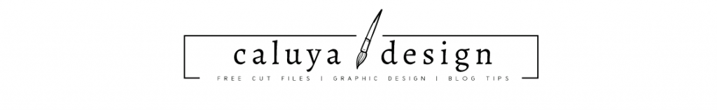 caluya design free SVG cut files for cricut and DXF for silhouette