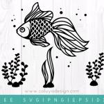 Free fish SVG