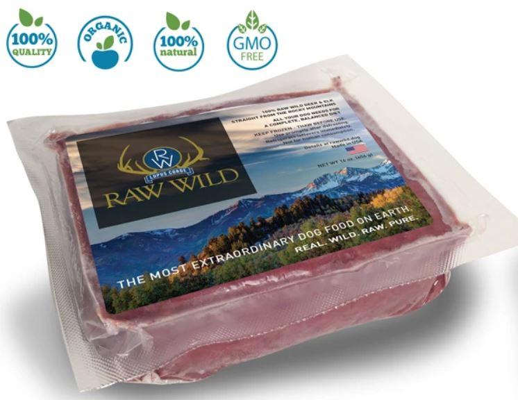 raw wild raw dog food