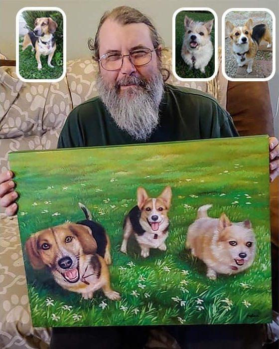 best pet portraits