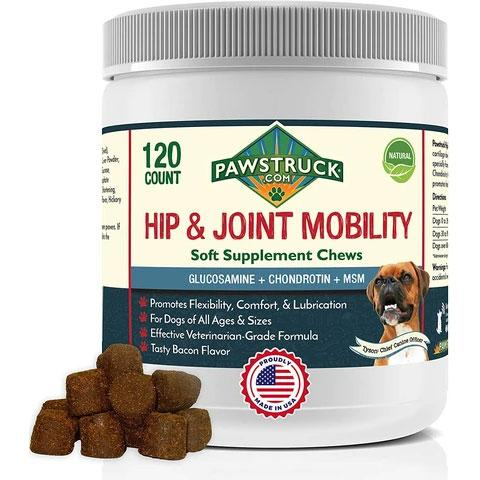 Pawstruck Glucosamine for Dogs Hip & Joint Supplement
