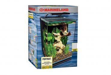 Marineland 5 Gallon Portrait Glass LED Aquarium Kit Review!